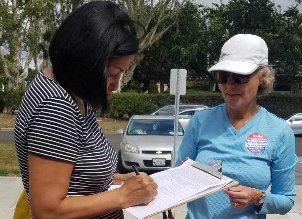 Citizens' Committee Begins Gathering Signatures